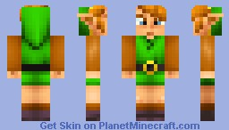Legend of Zelda - Link Minecraft Skin
