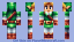 Link [Updated eyes] Minecraft Skin