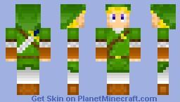 Link From The Legend of Zelda Minecraft