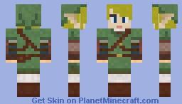 Twilight Princess Link Minecraft