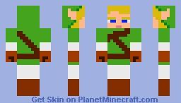 Link 1.0 Minecraft Skin