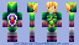 Link (Dark Link and Others Included) [Pop Reel] Minecraft Skin