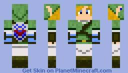 Link - The Legend of Zelda Minecraft Skin