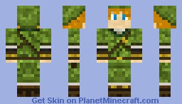 The Great Hero Link Minecraft Skin