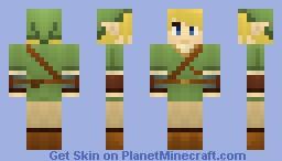 Link [Zelda] [Request] [3D Details] Minecraft Skin