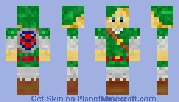 Link - Zelda Minecraft Skin
