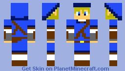 Link Skin(Blue) Minecraft Skin
