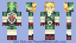 Link (made during danori's Livestream) Minecraft