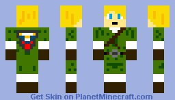 Link without hat Minecraft Skin