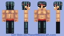 Liu Kang [Mgreat's Mortal Kombat Kontest] Minecraft Skin