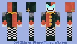 Shaco, the Demon Jester (from League of Legends Minecraft Skin