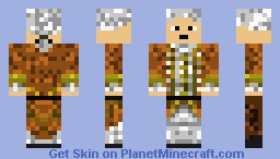 Lord Cutler Beckett Minecraft Skin