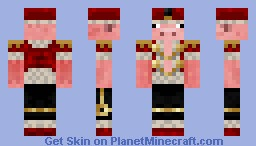 Lord Piggeh! (Or in other terms my NEW official Skin) Minecraft Skin