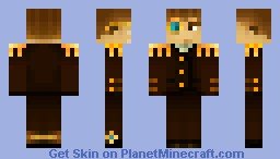 Lord Steampunk (Better Preview) [Contest skin] Minecraft Skin