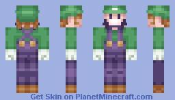 [PixelPancake's PALETTE CHALLENGE!]  Luigi Minecraft