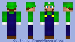 Luigi (Skin Battle, Expolsiveguy567 vs. blair240) Minecraft Skin