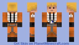 Luke Skywalker (Rebel Pilot) Minecraft Skin