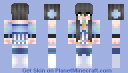 Lou Tianyi (vocaloid3) Minecraft Skin