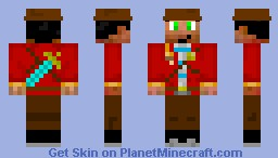 My signature skin (Adventure) Minecraft Skin