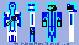 under-water camo Minecraft Skin