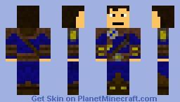 RPG Wanderer Minecraft Skin