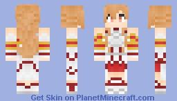 Asuna - Sword Art Online Minecraft Skin