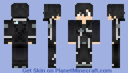 Kirito - Sword Art Online Minecraft Skin