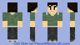 Gale Hawthorne (The Hunger Games) Minecraft Skin