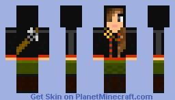 Katniss Everdeen (The Hunger Games) Minecraft Skin