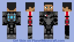 Mass Effect Minecraft Skin