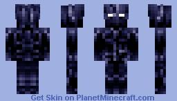 Shadow Demon [ Monster in the Closet Contest ] Minecraft Skin