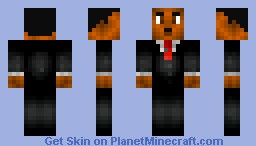 Martin Luther King Jr. Minecraft Skin