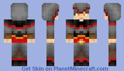 Male Chinese Assassin *Papercraft Included* Minecraft Skin