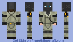 MSF Soldier from MGS: Peace Walker Minecraft Skin