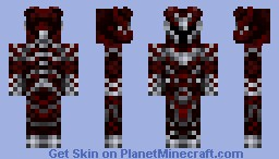Daedra Minecraft Skin