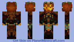 Mad King Thorn - Guild Wars 2 Minecraft Skin