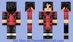 Uchiha Madara Minecraft Skin