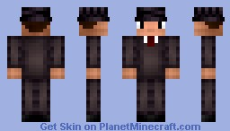 Mafia Boss Minecraft Skin