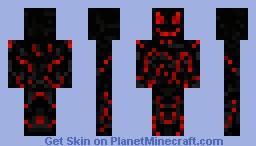 Magma Man Minecraft Skin