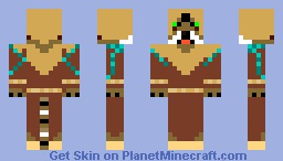 M'aiq The Liar (Skyrim) Minecraft Skin