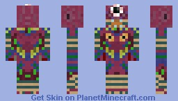 Majora's Wrath (LoZ:MM) Minecraft Skin