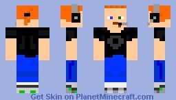 Me (Gamer mode) Minecraft Skin