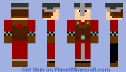 Man at Arms Minecraft Skin