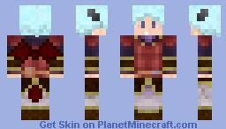 MapleStory-Kaiser Minecraft Skin