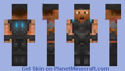 Marcus Fenix (Gears of War 3) Minecraft Skin