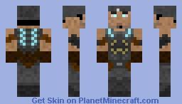 Gears Of  War 3 - Marcus Fenix Minecraft Skin