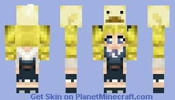 Maria and Picollo Minecraft Skin