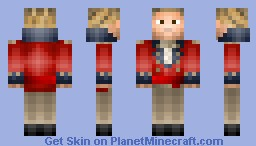 Royal Marine Captain Howard Minecraft Skin
