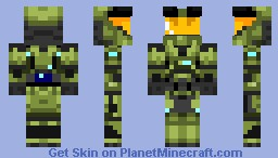 Halo CE Master Chief Minecraft