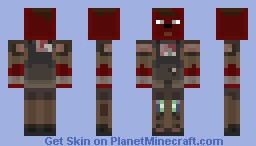 Marked Man Shading style test Minecraft Skin